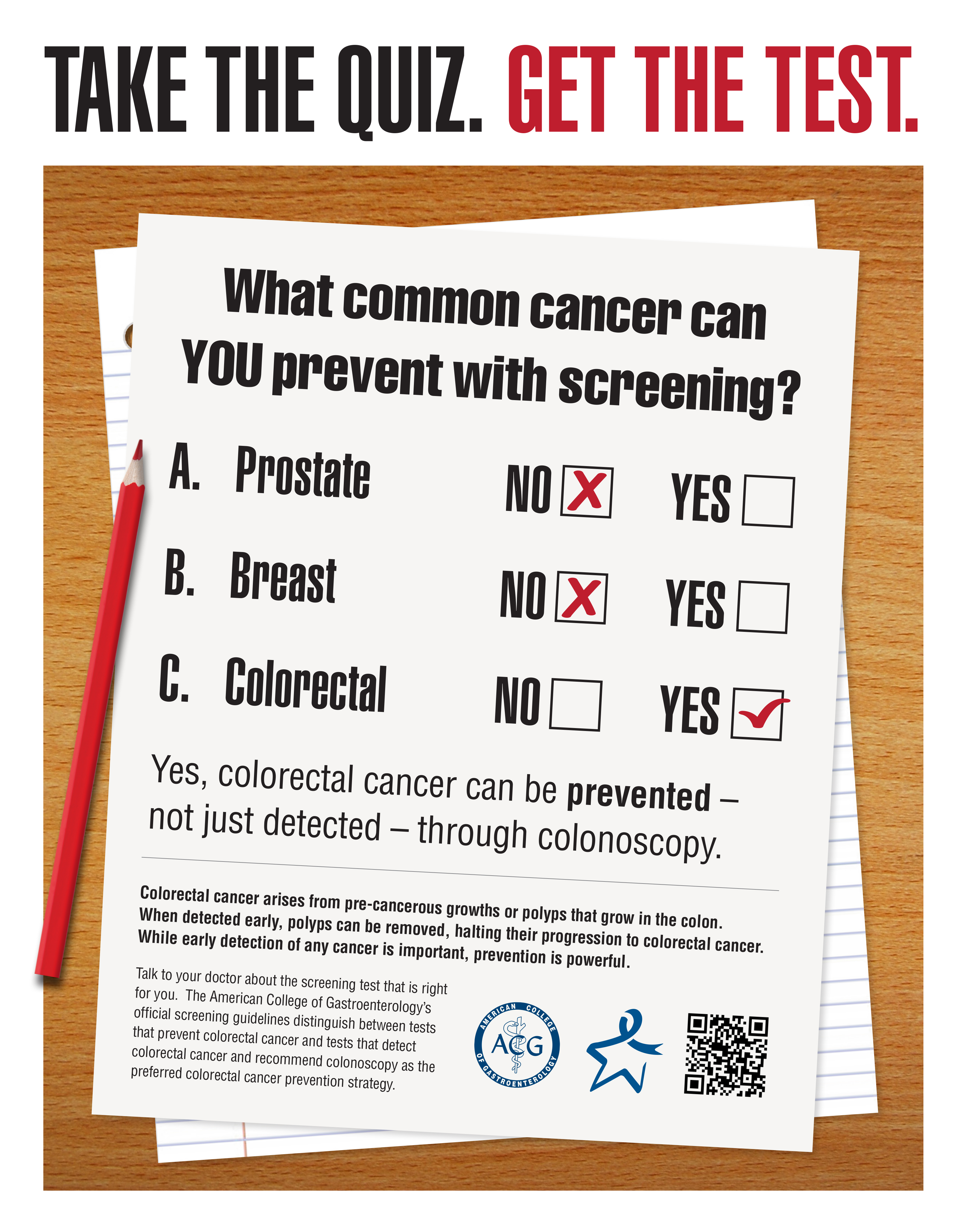 ACG CRC Awareness Poster